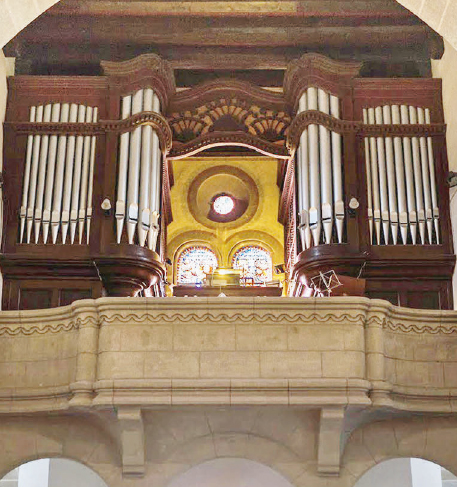 Cossonay – ultime concert avec l'orgue du temple