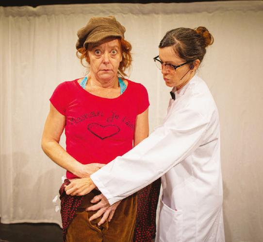 La Chaux – «Knock» au Théâtre de la Ruelle