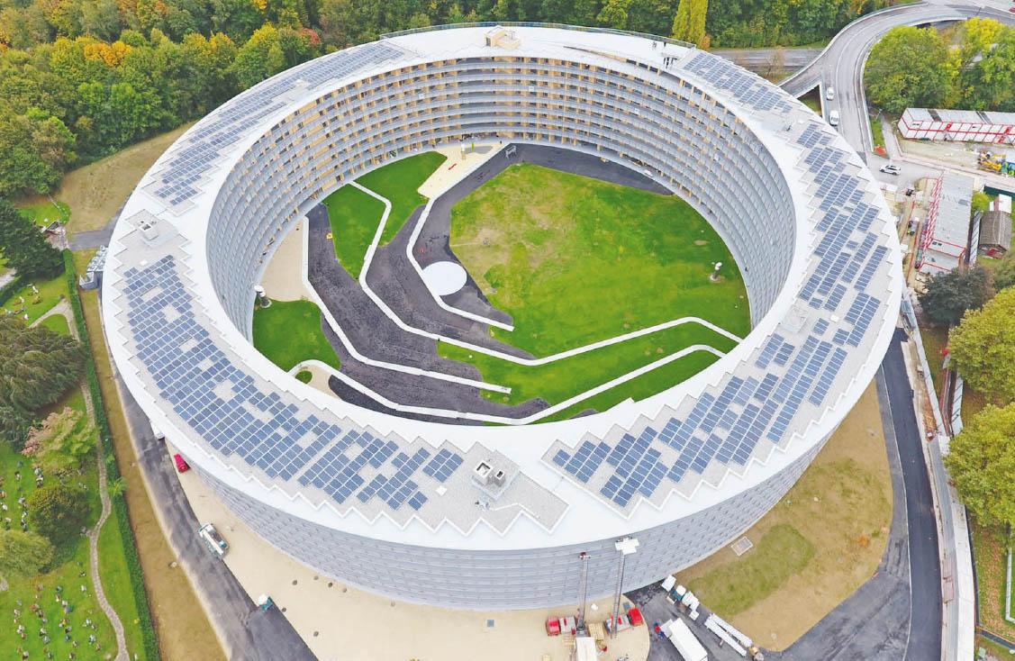 Chavannes-près-Renens – Inauguration de l'impressionnant Vortex