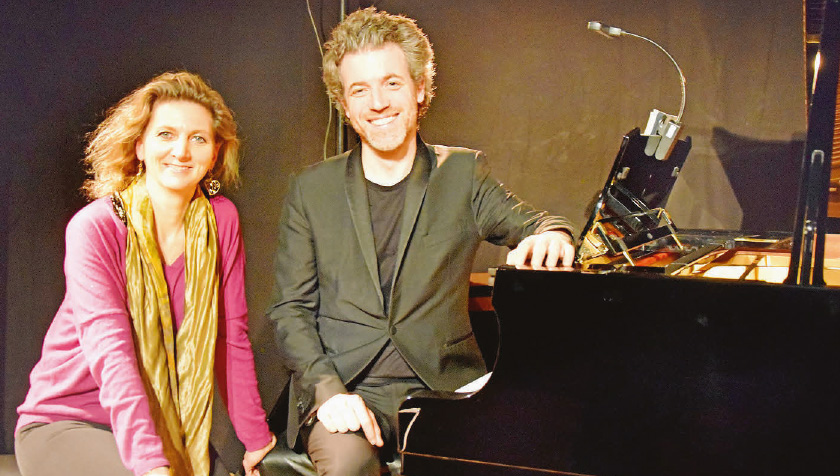 La Chaux – Ophélie Gaillard et Cédric Pescia, éblouissant duo