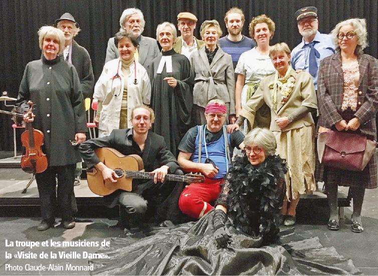 Théâtre à Nouvel-An avec les Tréteaux de Cossonay