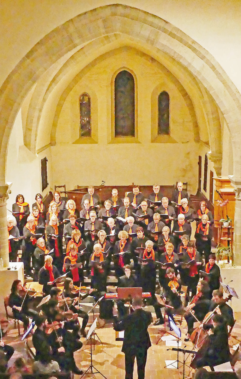 Concert de grande qualité avec la Chorale de Cossonay