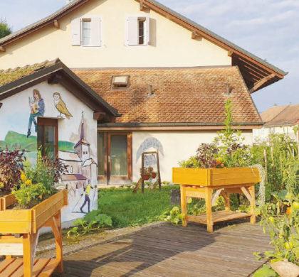 La Chaux – Potager «Le Jardin se créé»