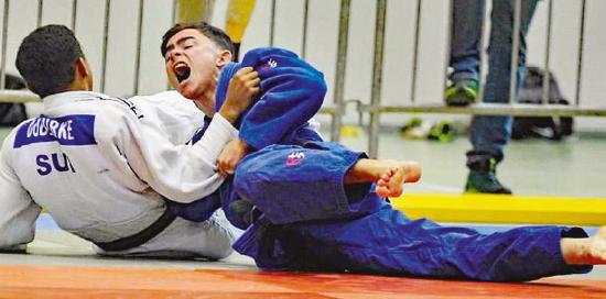 Mont-la-Ville – Jeune judoka prometteur