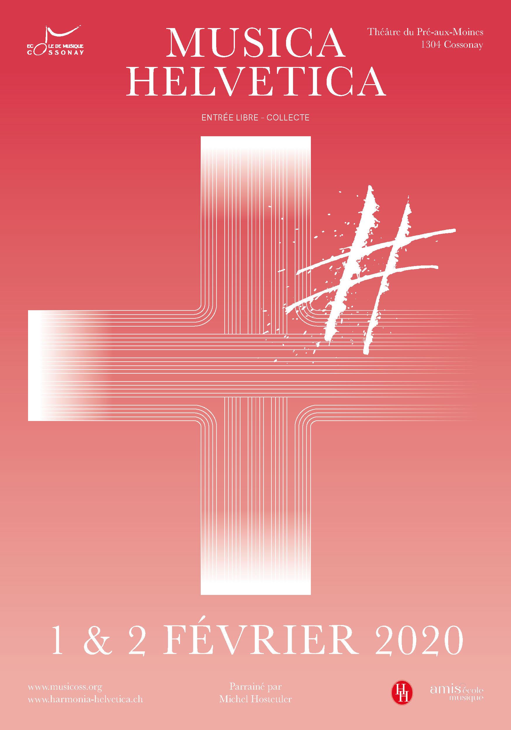 Cossonay – Deuxième édition de «Musica Helvetica»