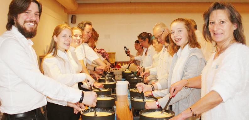 La Sarraz – Repas de soutien de L'Echo du Mauremont