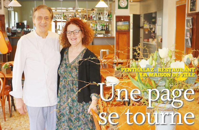 Penthalaz , restaurant La Maison de Ville
