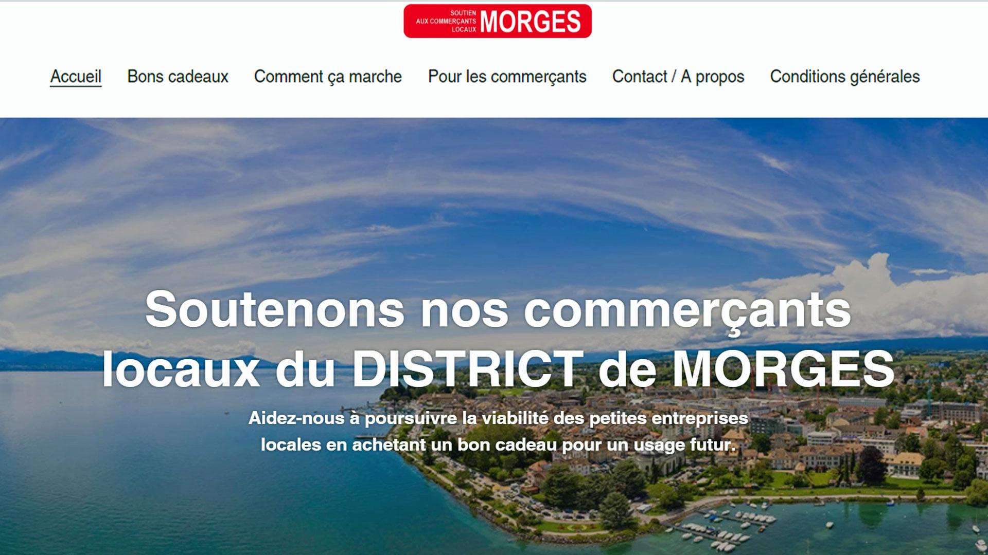 Coronavirus : L'excellente idée appliquée par l'ARCAM pour soutenir les commerçants locaux du district de Morges !