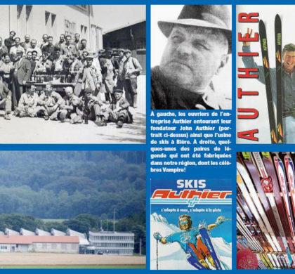 Les skis Authier, une entreprise de légende