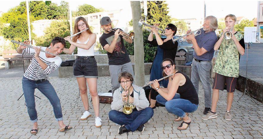 Daillens et Penthalaz, Concerts surprises avec l'Echo de la Molombe