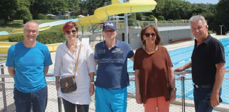 La Sarraz, la piscine a rouvert