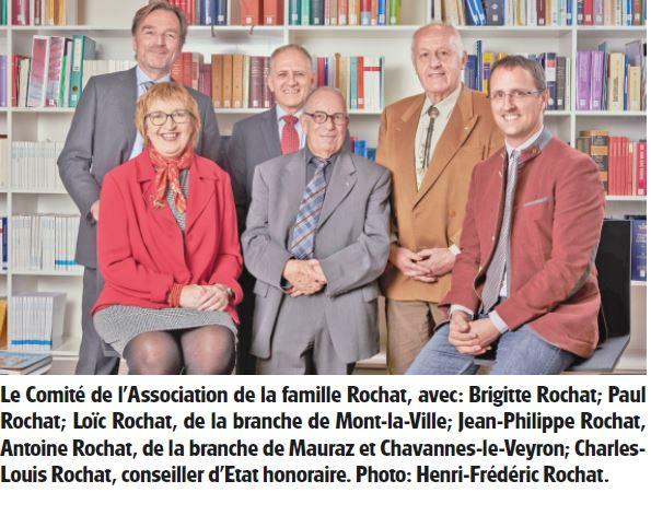 L'Abbaye, L'histoire de la famille Rochat en 700 pages !