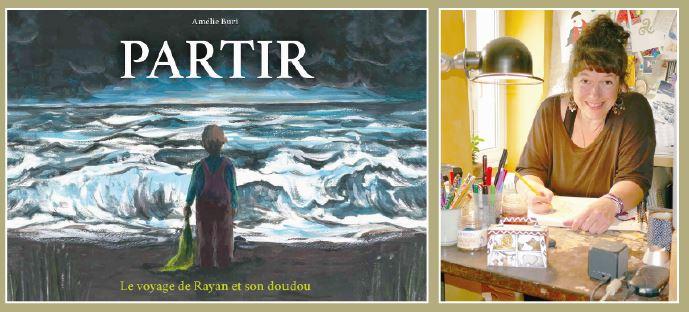 La Sarraz, nouveau livre d'Amélie Buri