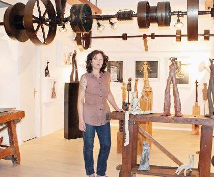 Pompaples, Sandrine Soldini. Première expo commune