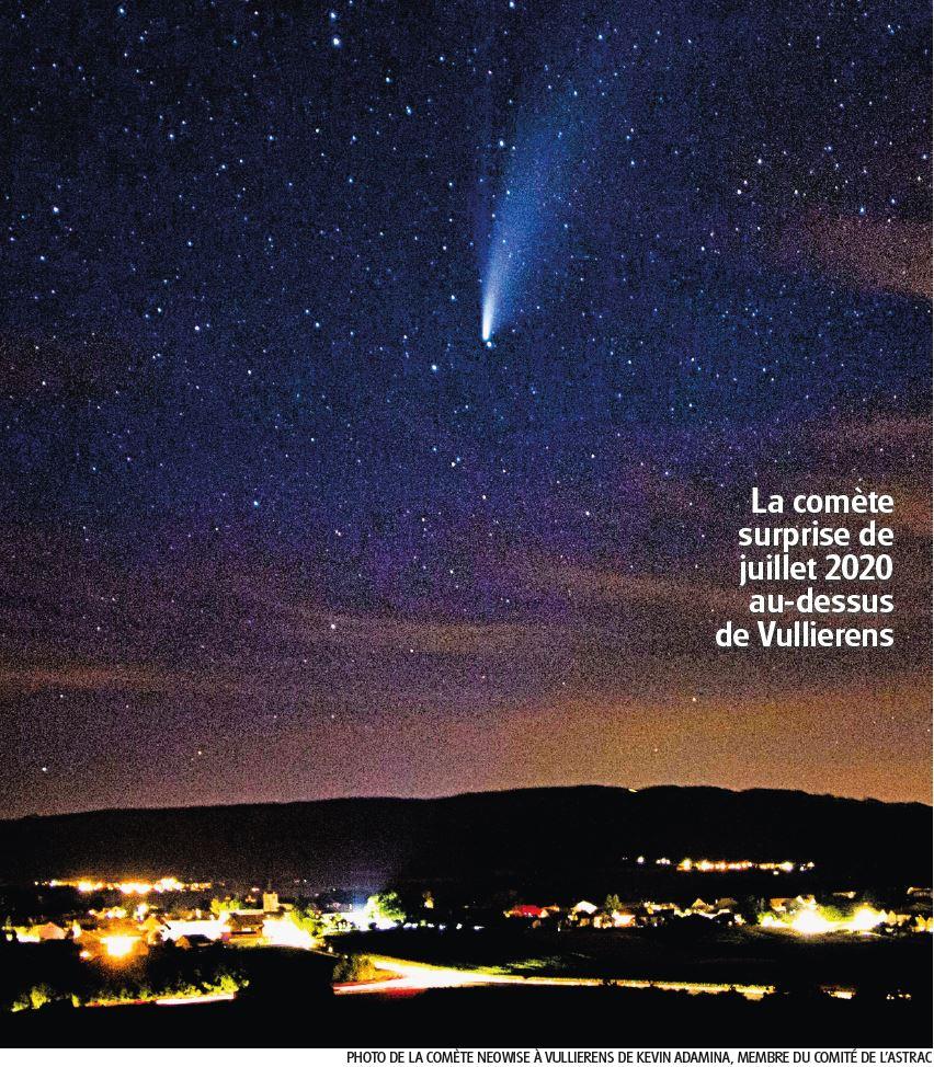 Éphémérides, la comète surprise de juillet 2020
