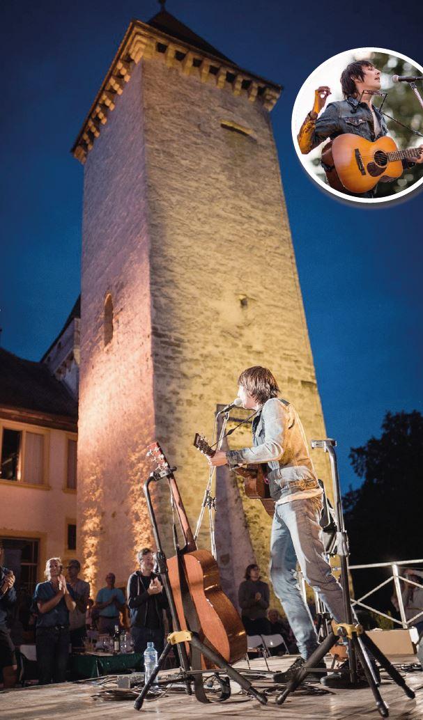 La Sarraz, les jeudis du Château. Marc Aymon chante et enchante
