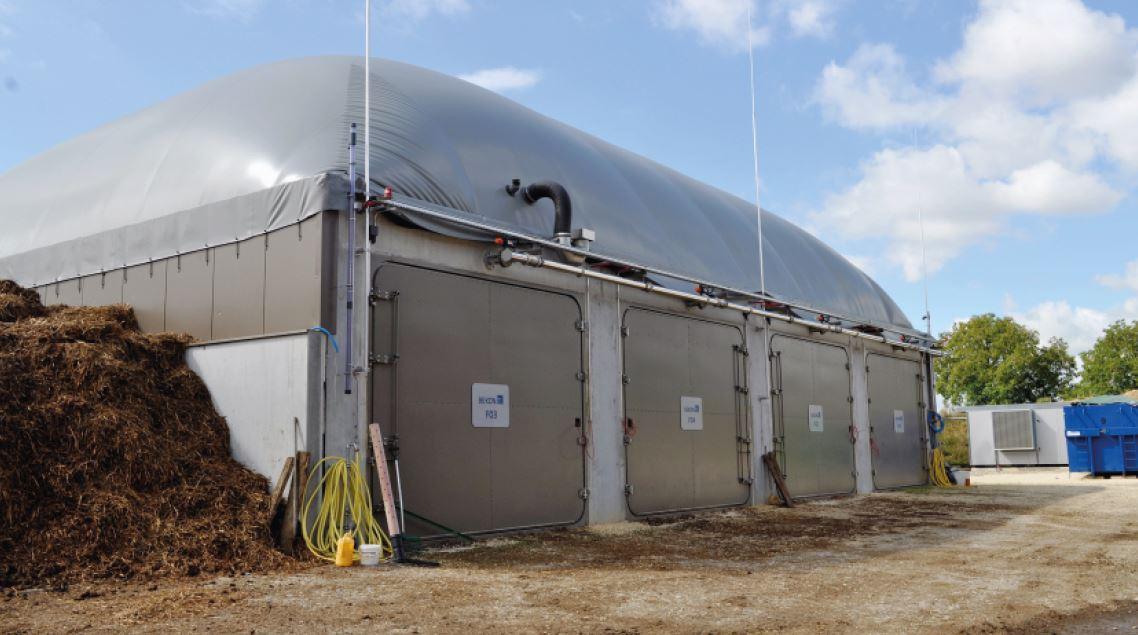 Boussens, mise en production d'une centrale à biogaz