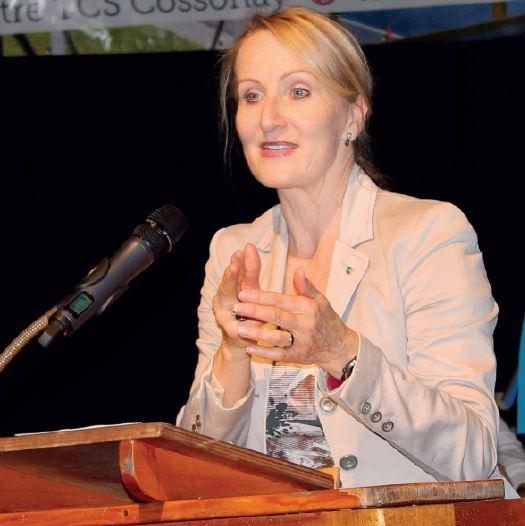 Andréa Arn va quitter la préfecture
