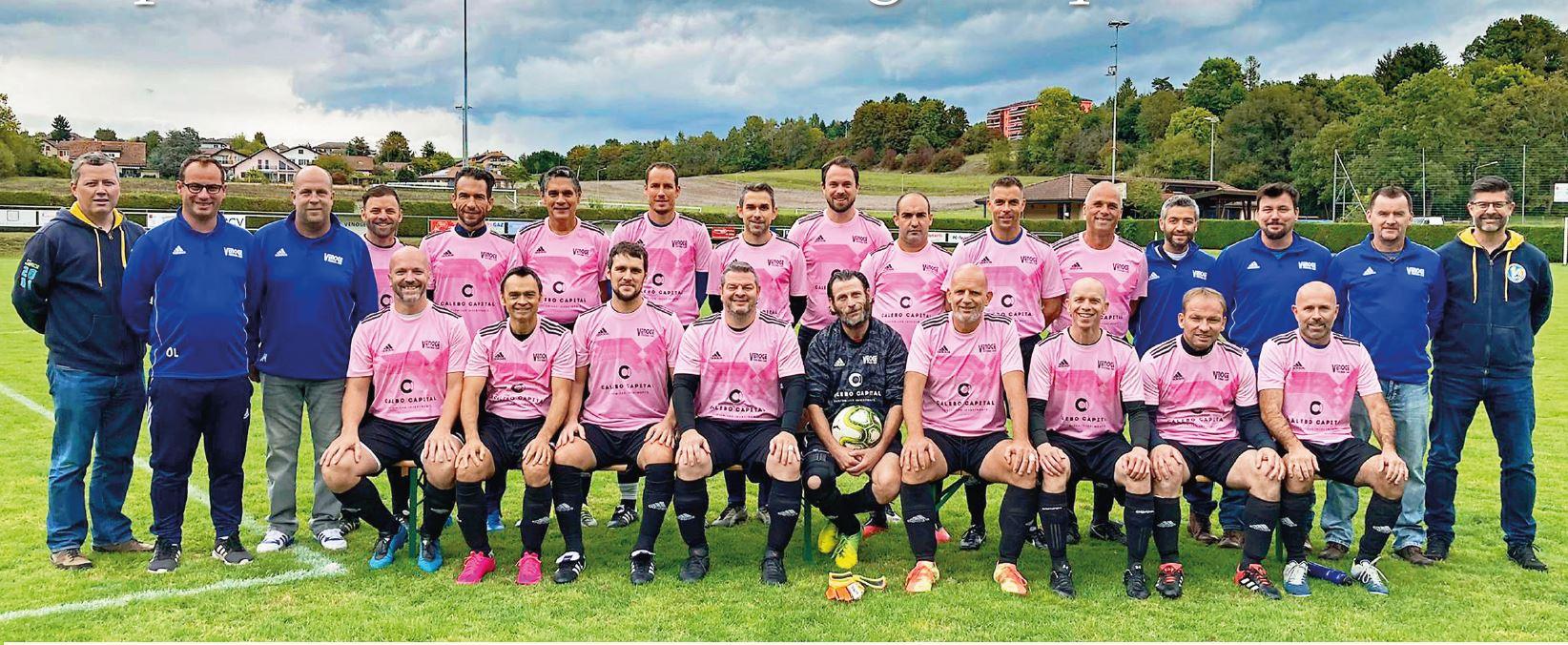 Le FC Venoge (seniors 40+) en quarts de finale de Coupe de Suisse !