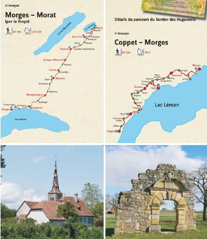 Guide de balades sur les pas des Huguenots