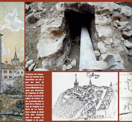 Cossonay, Il était une fois le pont de la Tannaz et la Porte de La Sarraz