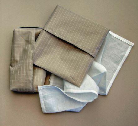 Mouchoirs en coton bio réutilisables