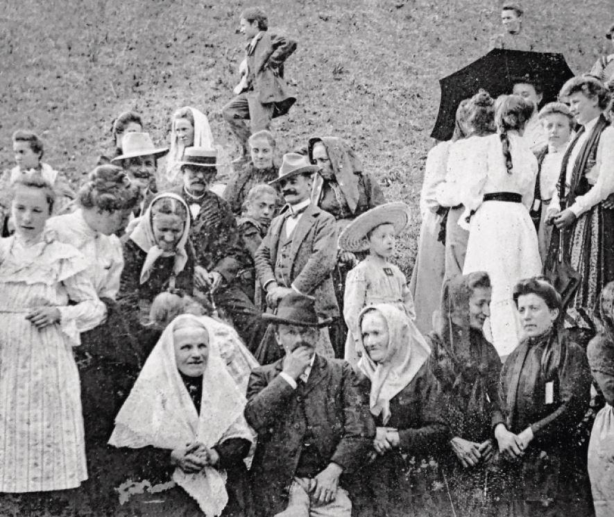 La Sarraz, les 200 ans de la famille Zali