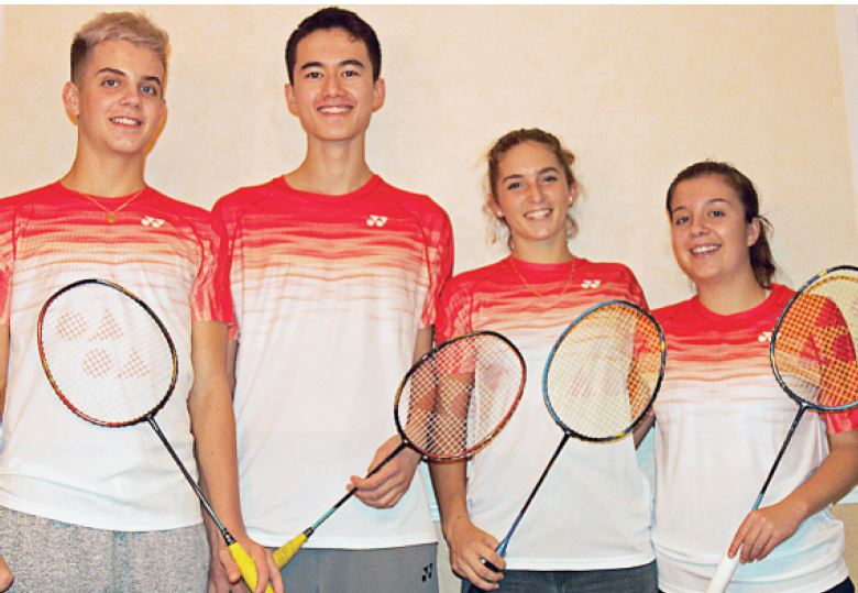 Championnat d'Europe en Finlande. Le club de badminton d'Orbe a fait très fort !