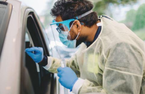 eHnv, COVID-19: le centre de test augmente sa capacité