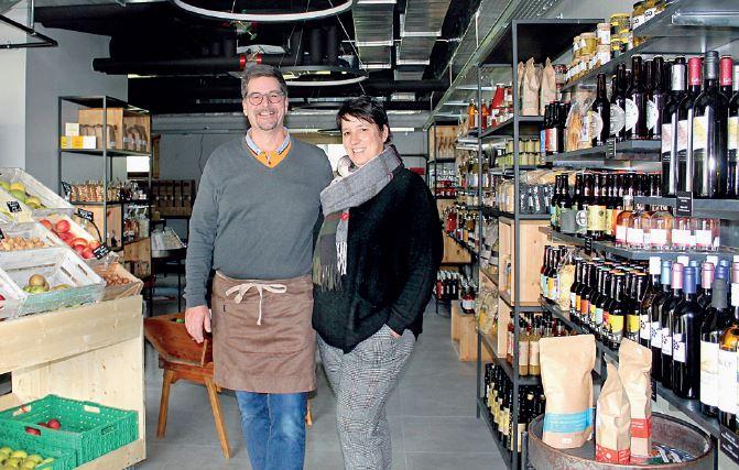 Cossonay, l'épicerie des Prés. Manger local ? Bon pour le moral !