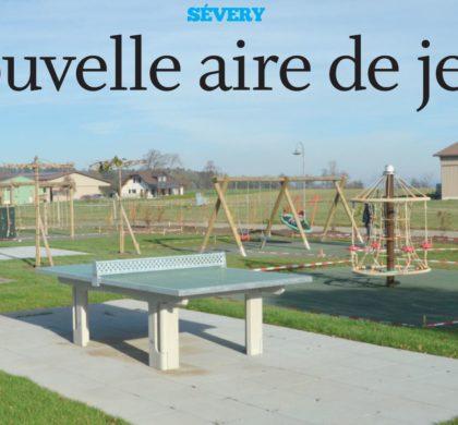 Sévery, nouvelle aire de jeux