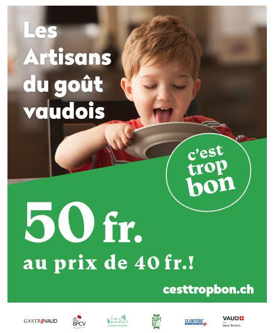 Vaud, nouvelle plateforme cesttropbon.ch