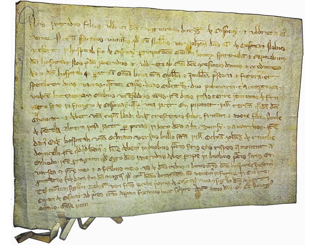 Trésors d'archives. 1298: premier inventaire ménager de Cossonay