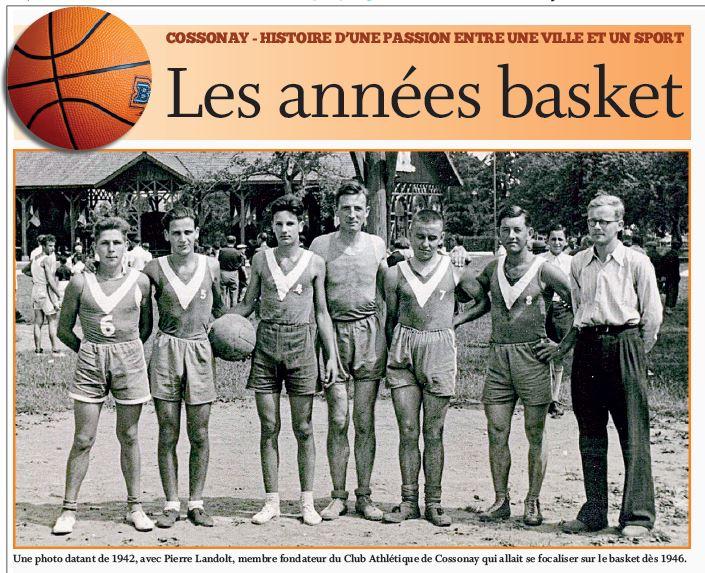 Cossonay, les années basket