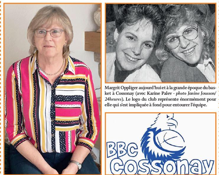 Histoire du Basket-ball Cossonay avec Margrit Oppliger. « L'ambiance était fabuleuse»