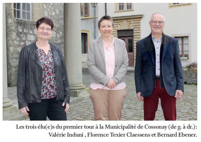 Cossonay, élections communales