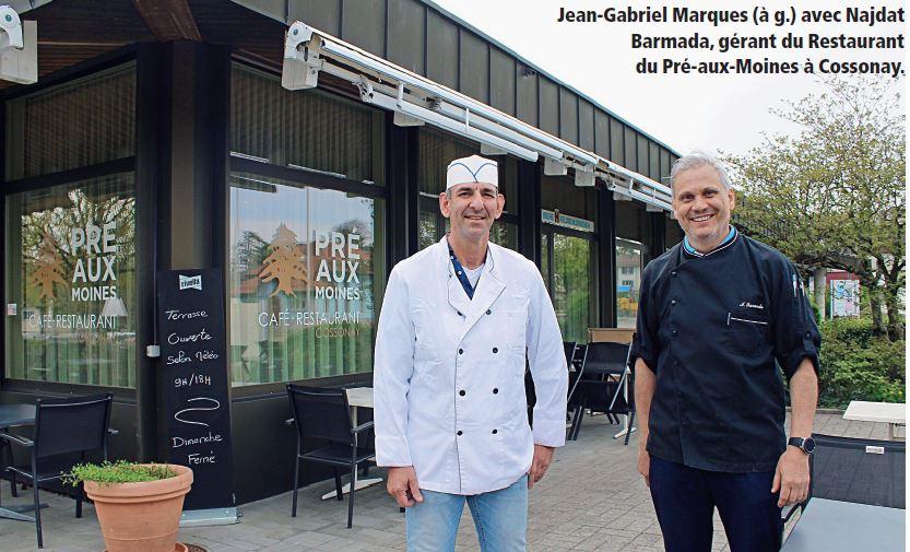Echo commercial à Cossonay, restaurant du Pré-aux-Moines. Une priorité accentuée aux produits locaux