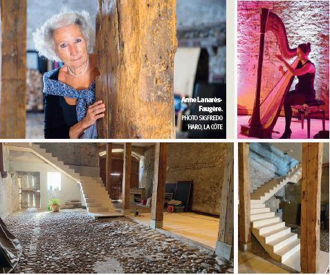 À La Chaux, une grange revit pour rassembler et partager art & musique