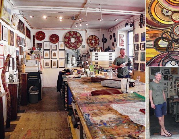 La Sarraz, les 10 ans de l'atelier d'Etienne Volery