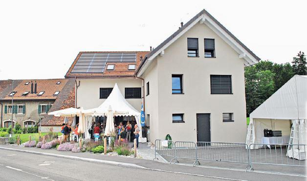 Senarclens, Inauguration du Café-Restaurant du Tilleul