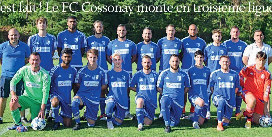 Football. C'est fait ! Le FC Cossonay monte en troisième ligue !