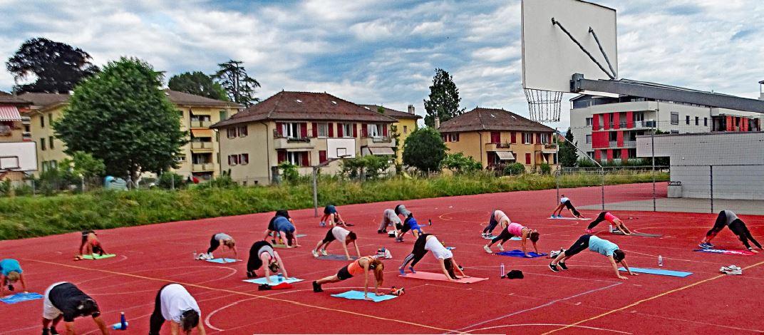 Cossonay, fitness gratuit en extérieur le dimanche matin