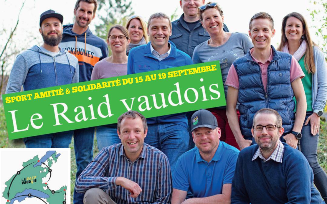 Sport Amitié et Solidarité du 15 au 19 septembre.  Le Raid Vaudois.