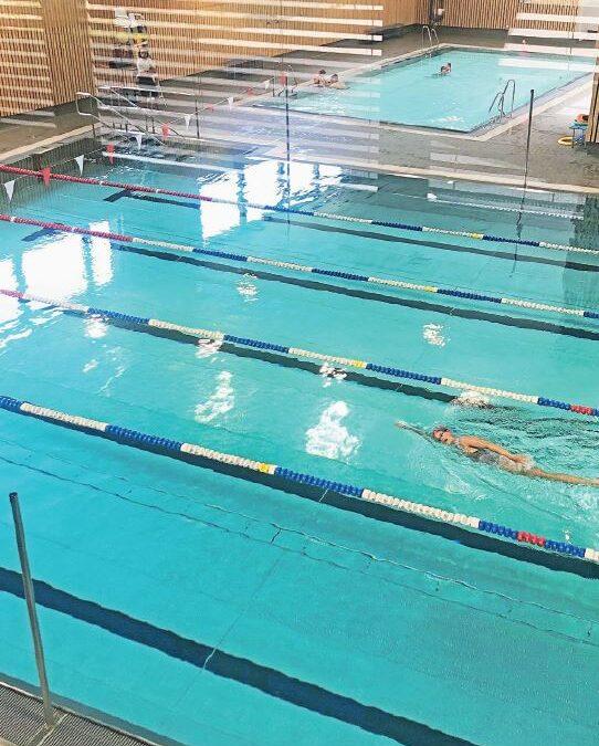 Cossonay, piscine des Chavannes. C'est déjà un succès public