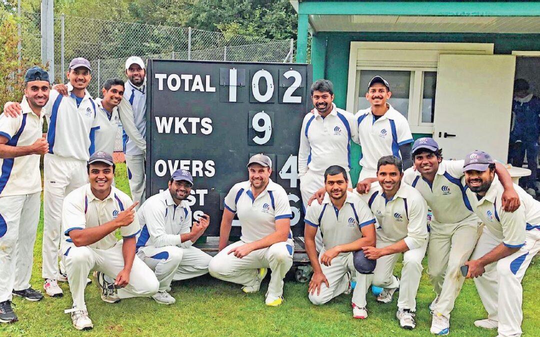 Cossonay, un titre suisse pour l'équipe locale de cricket