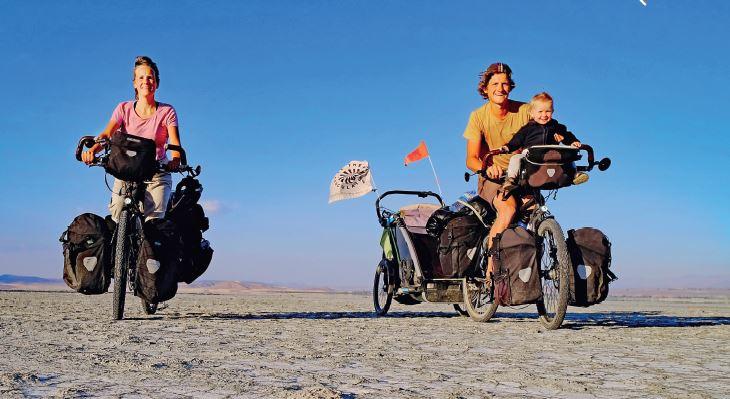 Tour du monde à vélo avec bébé (suite)